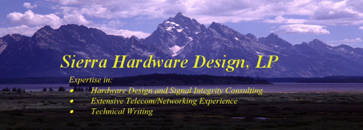 Sierra Hardware Design's Blog