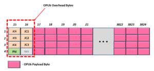OPU0 through OPU3 - GMP Applications