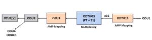 ODU1 to ODU3 - Using PT = 21 Method