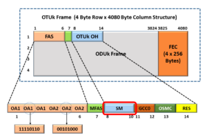 OTUk Framing Format - Identifying Section Monitoring field