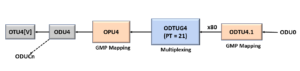 ODU0 to ODU4 - Using PT = 21 Method