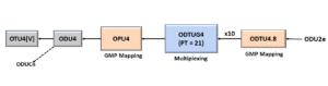ODU2e to ODU4 - Using PT = 21 Method