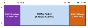 OTUkV Structure with Different Frame Structure and FEC